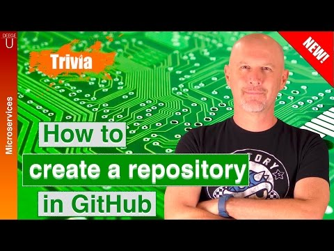 How to create a repository in GitHub - CM005