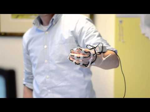 [BMD short edit] Henk Kortier - Instrumental glove hand kinematics 2012