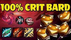 100% CRIT BARD ADC!!! | S9 Bard Gameplay | feviknight