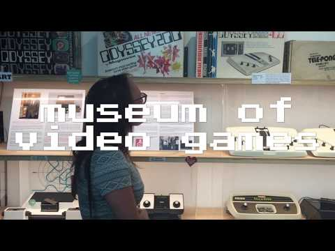 Museum of video games in Perth