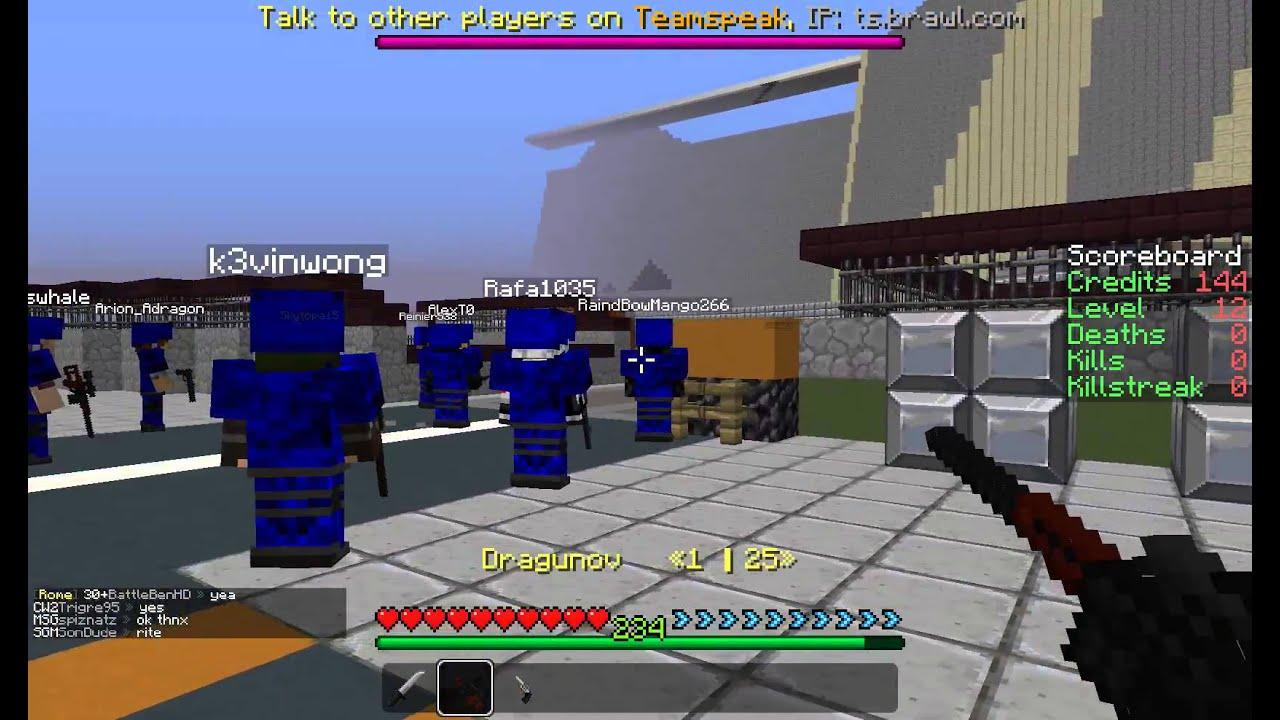 Minecraft Gun Servers YouTube