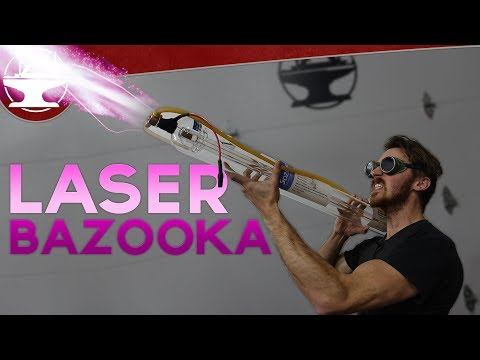 LASER BAZOOKAS and Tesla Coil Guns!