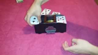 Card Shuffler Automatic machine 2 deck review