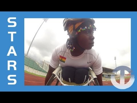 Anita Fordjour | Ghana's Wheelchair Racing Star on Trans World Sport