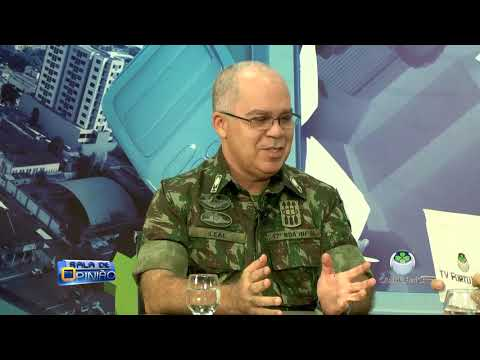SALA DE OPINIÃO COM DR. APARÍCIO CARVALHO - GENERAL LEAL