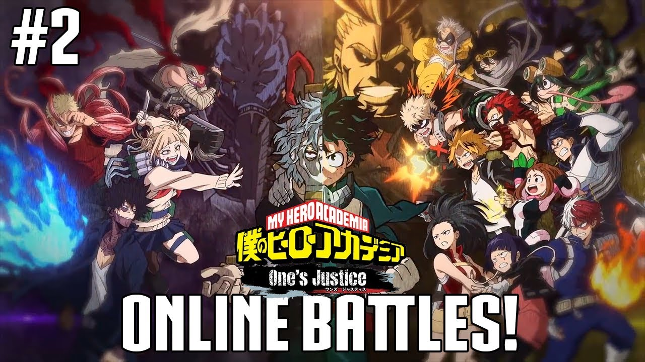 my hero academia one s justice online gameplay battles with
