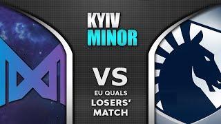 Nigma vs Liquid LB Final EU Starladder SL Kyiv Minor 2020 Highlights Dota 2
