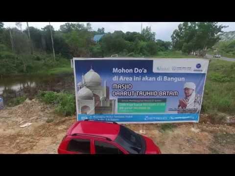 Mapping Lahan Pembangunan Masjid dan Pesantren Daarut Tauhid Batam