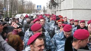 Харьков - 11 апреля 2014 - Беркут возле УМВД - 4(Беркут., 2014-04-11T11:28:06.000Z)