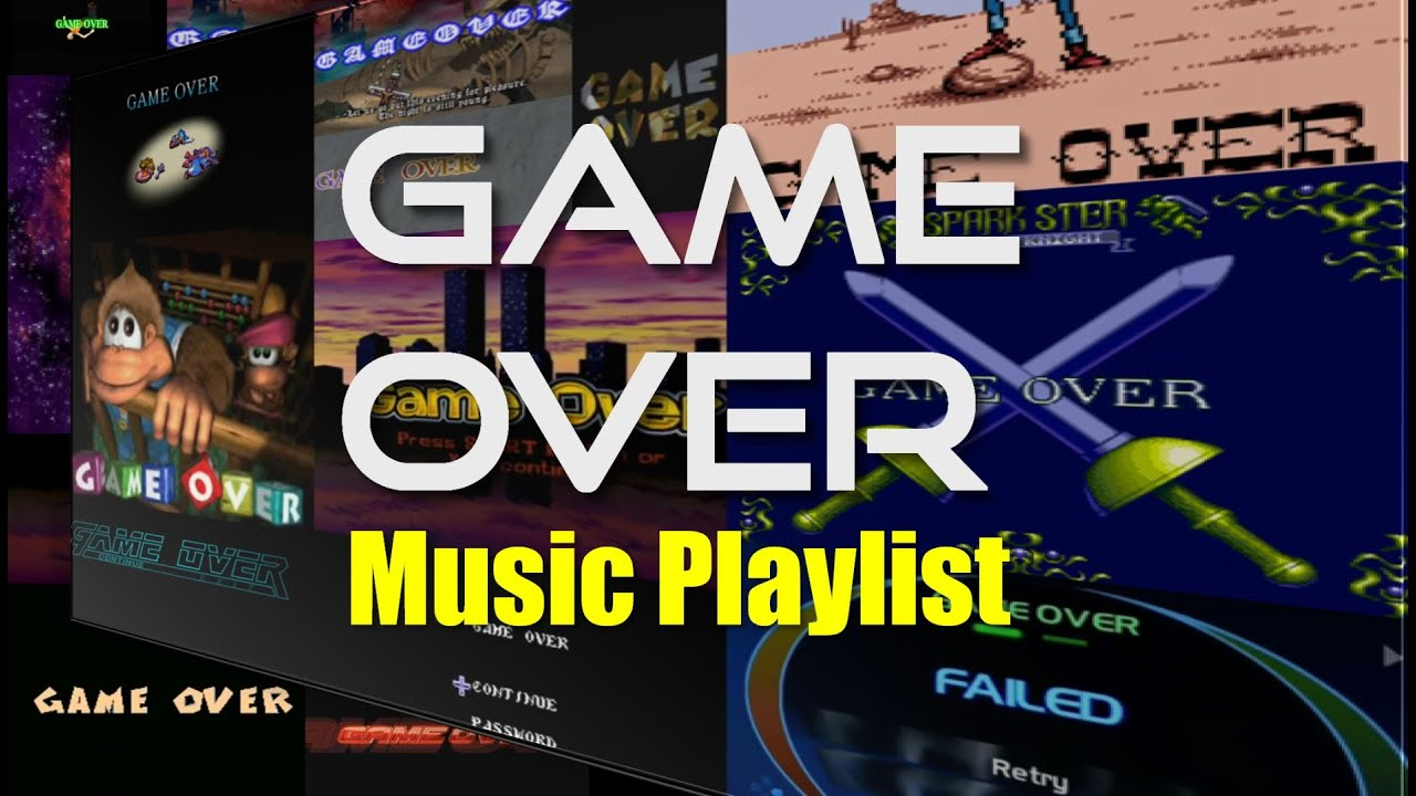 VGS: GAME OVER Playlist