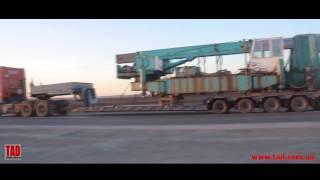 видео Правила транспортировки и установки станков