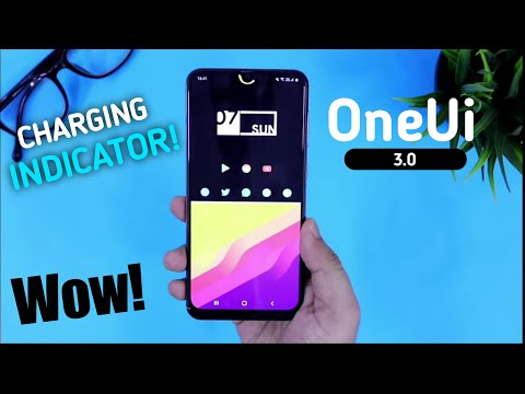 Samsung One Ui 3.0 - Charging Indicator in Any Samsung Device S10+,Note10,A50,A30,M21,M31,A71,A51,