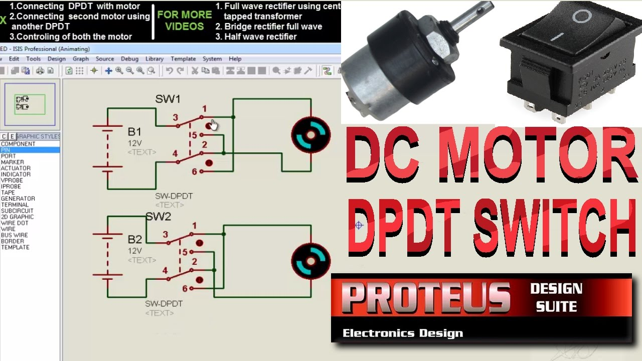Spst Switch Motor Wiring Diagram Another Blog About A Harness For Kenwood Ez500 Dpdt Wired Robot Basic Youtube Rh Com