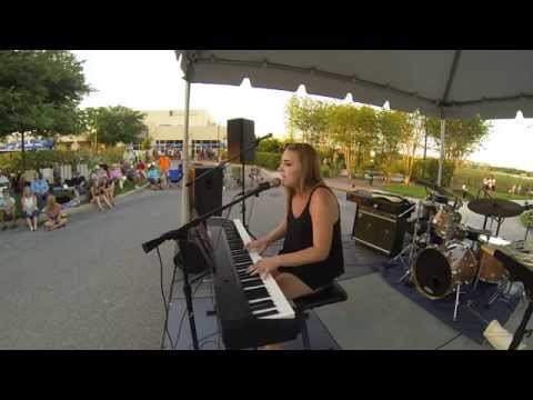 Paige Merriman Music On Main 1st Friday Lakewood Ranch 4-3-15