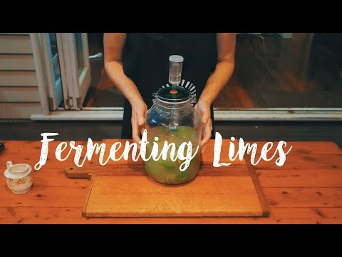 How To Ferment Limes