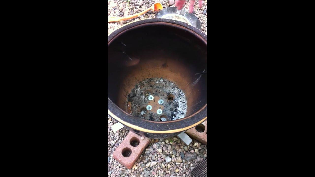 Diy Kamado Charcoal Smoker Doovi