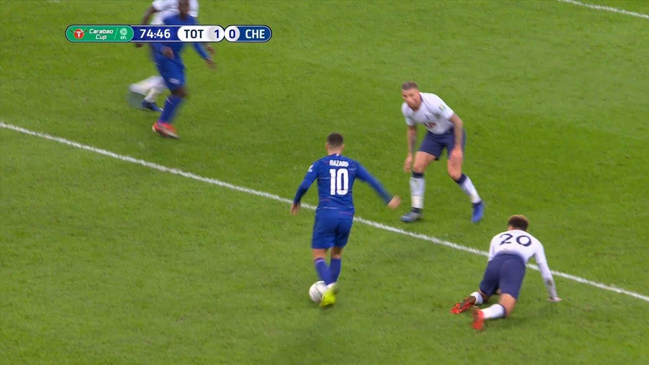 Download Eden Hazard vs Tottenham (Away) 2019 HD
