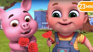 Ringa Ringa Roses - Best Collection of  Nursery Rhymes and kids songs for children from Jugnu Kids
