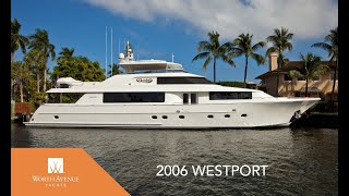 Luxury Motor Yacht Domino 112' Westport