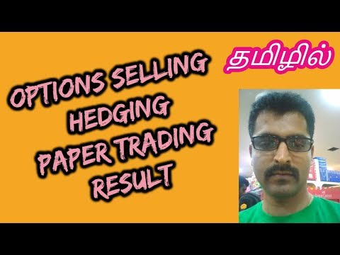 Option selling hedging - 4 | Paper trading Result