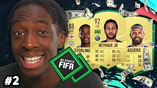 BUILDING OUR TEAM! PACKS! INVESTING IN ICONS! MANNY'S MONEY TEAM #2