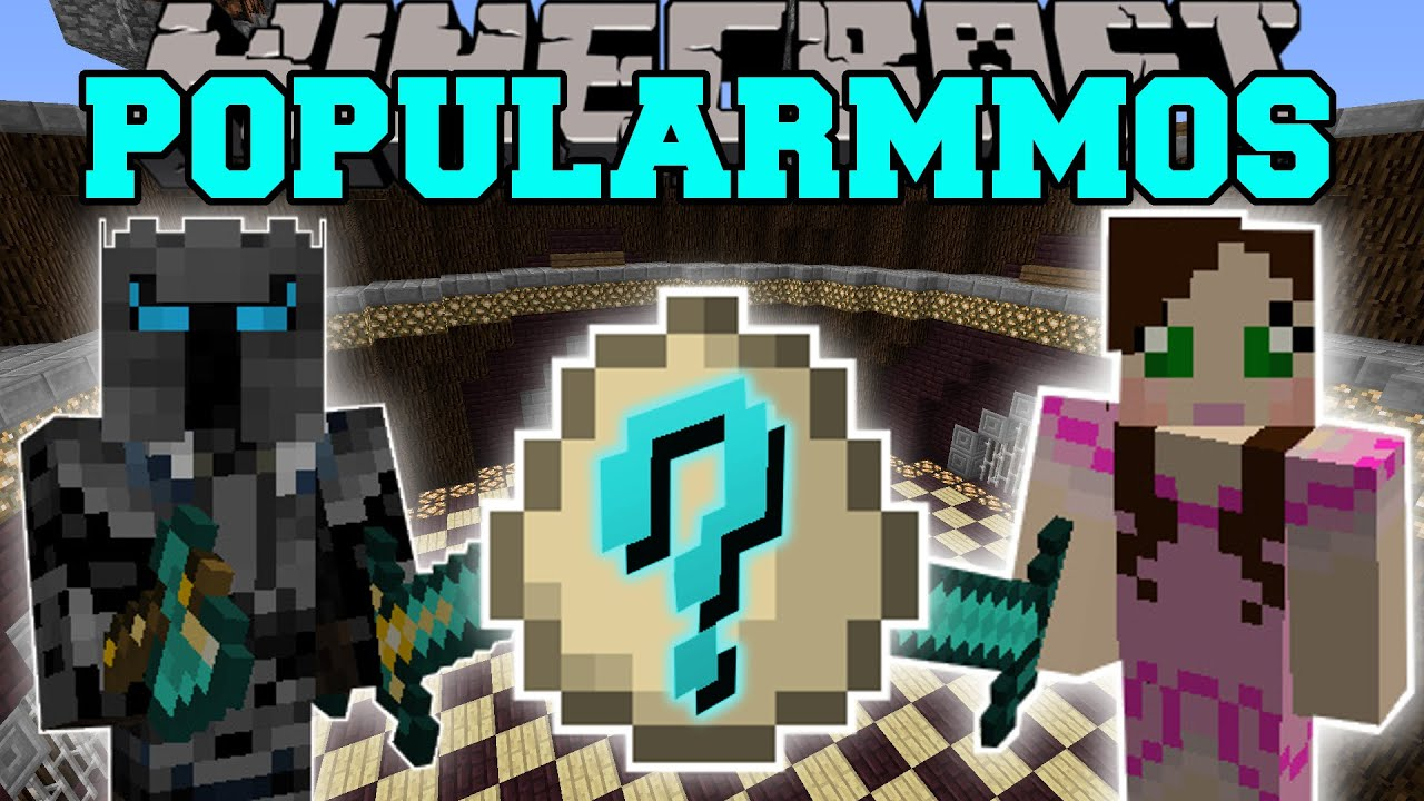 Minecraft: POPULARMMOS MOD (TREE OF EPIC PROPORTIONS ...