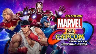 ESTRENO HISTORIA EPICA ! MARVEL VS CAPCOM : INFINITE