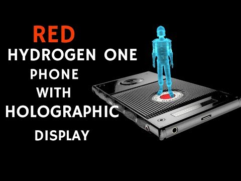 Red Hydrogen One (1)  Phone with Holographic Display Features Explained