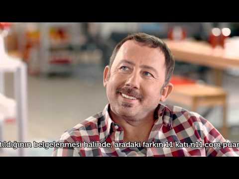 Sergen Yalçın'lı N11.com Yeni Reklam Filmi