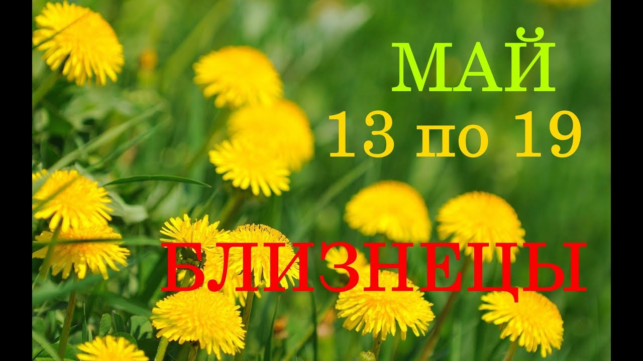 БЛИЗНЕЦЫ. ГОРОСКОП-ТАРО на НЕДЕЛЮ с 13 по 19 МАЯ 2019 год.