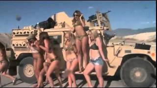 Behind The Scenes British swimsuit calendar Hot models shot on Utah National Guard base