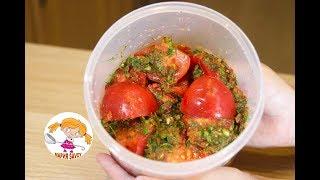 🍅Помидоры по-корейски. Tomatoes in Korean.🍅