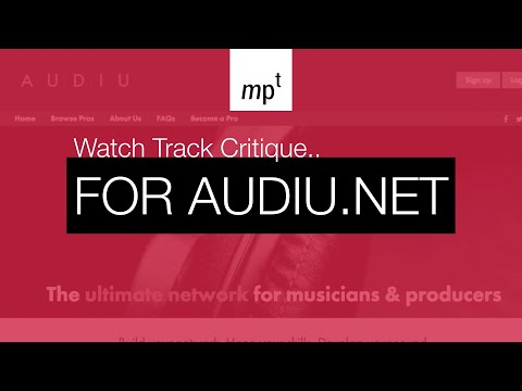Audiu.net Production Critique for Tom Kendrick on Wavelab Pro 9