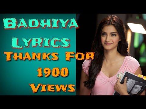 Badhiya Lyrics || Main Badhiya Tu Bhi Badhiya Lyric || Main Badhiya Lyrics Tu Bhi Badhiya Lyrics