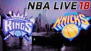 NBA LIVE 18: Kings vs Knicks (XBOX ONE S)