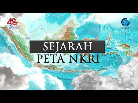 Sejarah Peta Negara Kesatuan Republik Indonesia (NKRI)