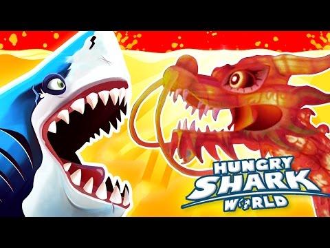 NEW ASIAN MAP + SEWER CROCODILES! - Hungry Shark World   Ep 36 HD