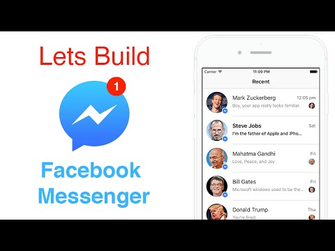 Swift: Recreating Facebook Messenger - Auto Layout Using Code or Programmatically