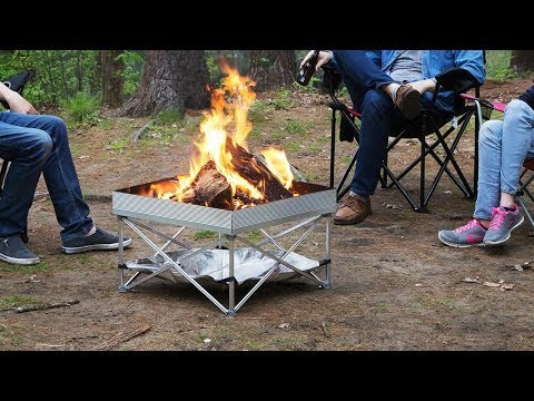 Fireside Outdoor | Pop-Up Portable Fire Pit