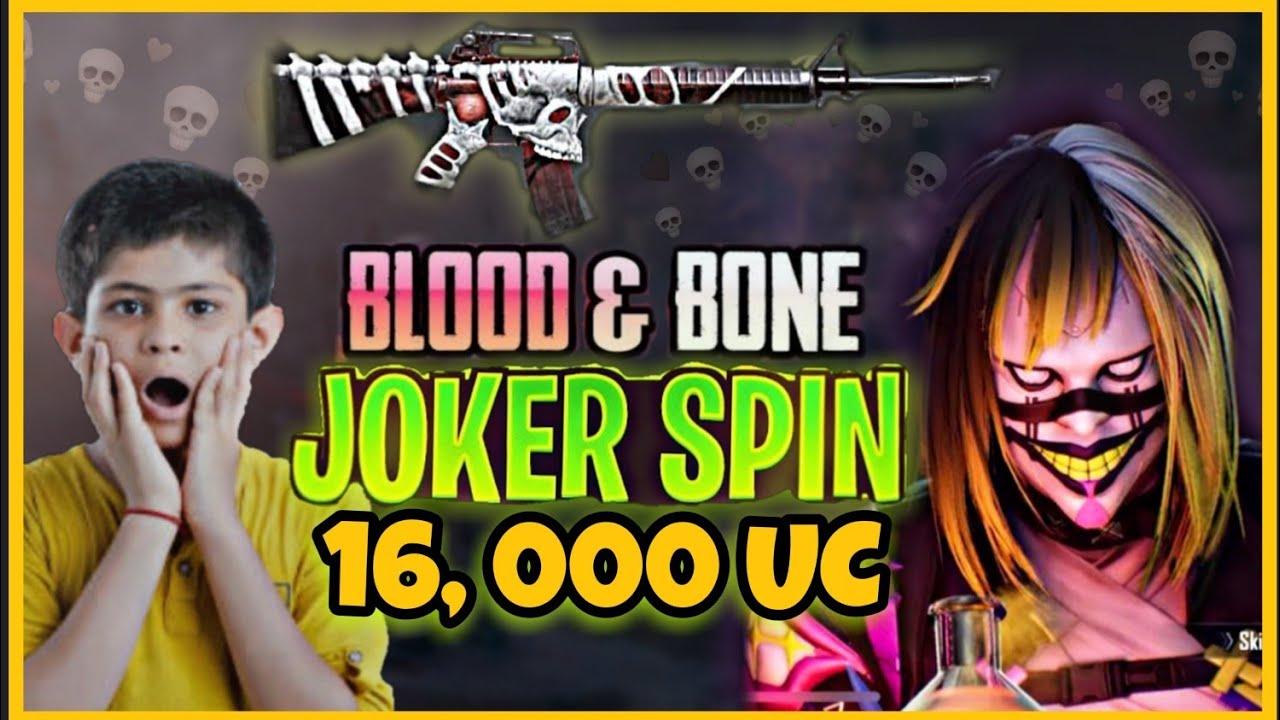 Joker Spin | Blood & Bones M16A4 | 16000 Uc 😱😱