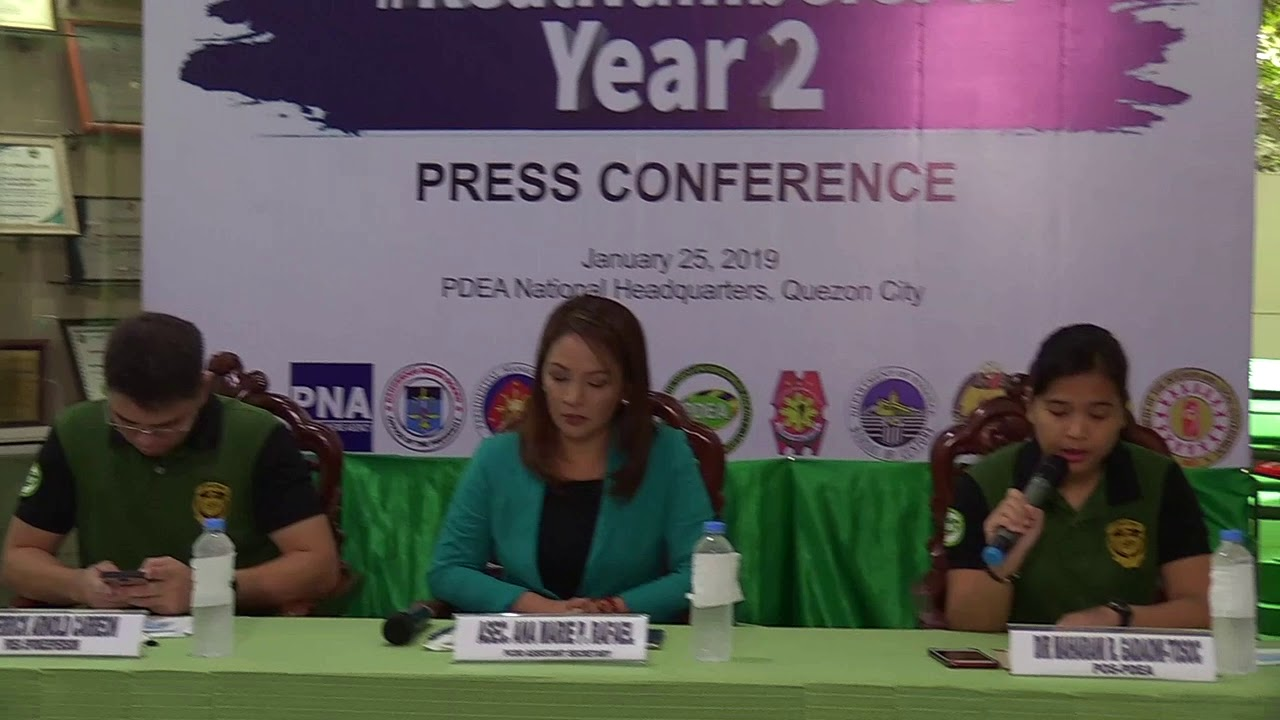 PDEA: 54 druggies killed in Dec  2018
