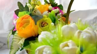 Букет из конфет (пионы, розы, конфеты)