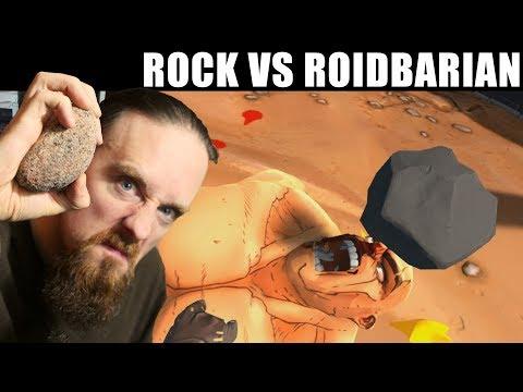 Skall Tries GORN - Virtual Gladiator Fights!