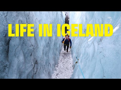 Life Of A Glacier Guide In Iceland - Francesco