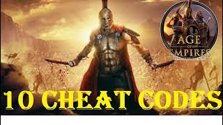 10 BEST   SUPER CHEATS part1   Age of Empires Definitive Edition   Gameplay PC