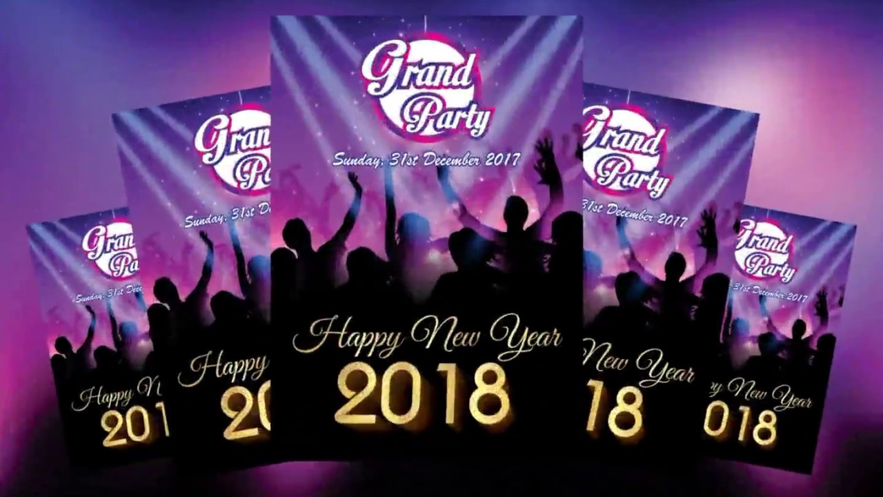 make a happy new year banner design i 2018 banner design i ayush graphics