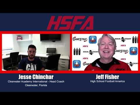 Jesse Chinchar, Clearwater Academy International (Florida) head coach