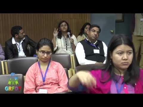 """Question answer session """"Diaspora and Refugees in India"""""""