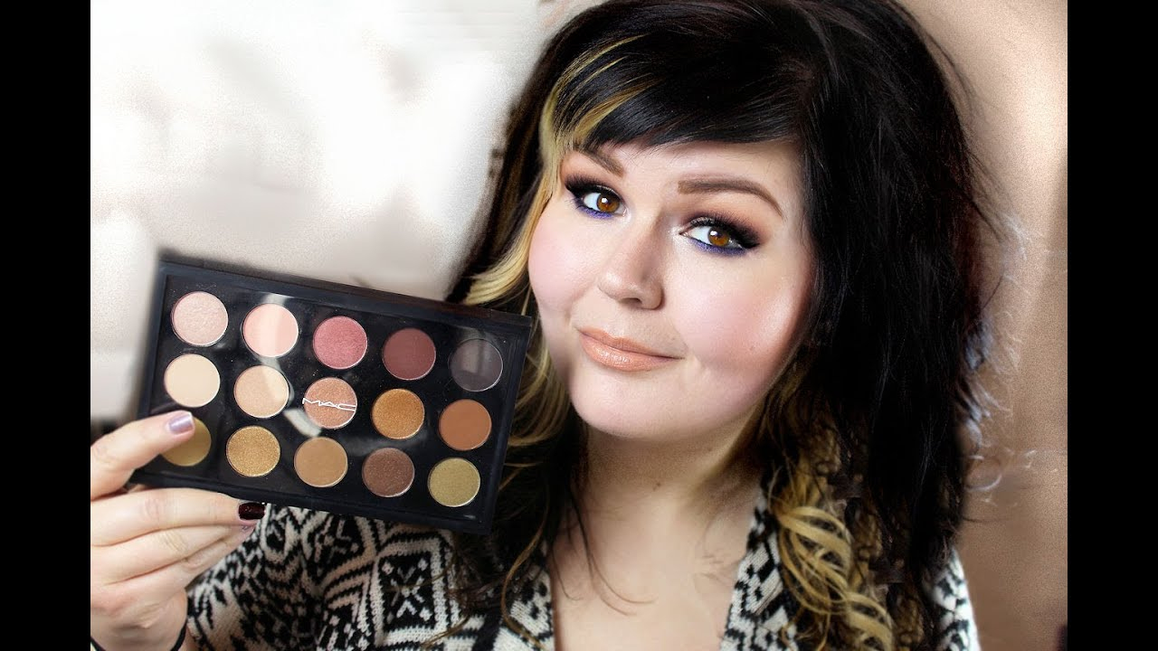 Mac Eyeshadow 15x Warm Neutral Palette Review And First