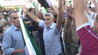 أخبار خاصة - مظاهرات في معرة النعمان تندد بعدوان هيئة تحرير الشام
